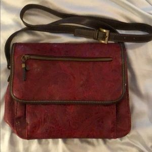 Relic leather handbag
